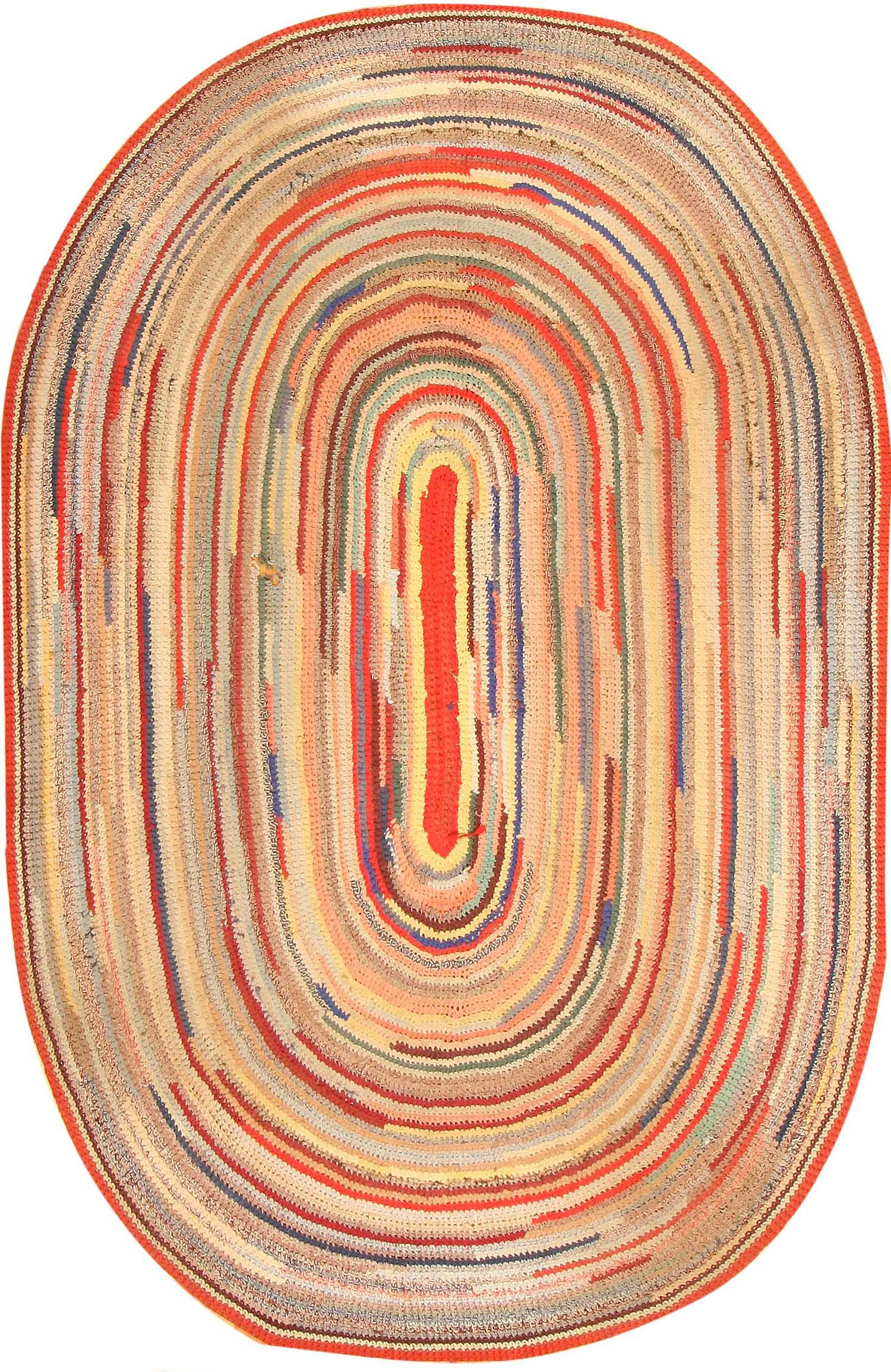 oval rug early american braided rug 1271 nazmiyal TPFAIHD