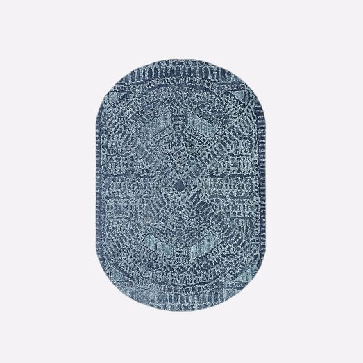 oval rug maze rug - oval XDACVOD