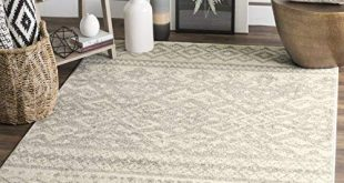 oversized rugs safavieh adirondack collection adr107b ivory and silver rustic bohemian  area rug (11u0027 FIAAXVZ
