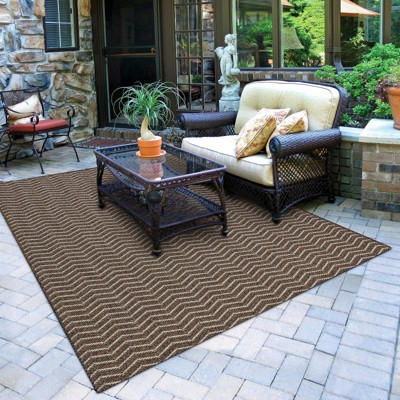 Patio rug aster rectangular patio rug - grey/silver : target YZBBNPK
