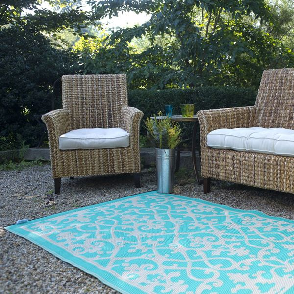 Patio rug, one of the best to choose