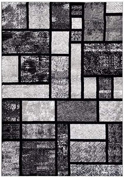 persian-rugs 5 feet x 7 feet- area rug modern carpet, gray VSOJELS