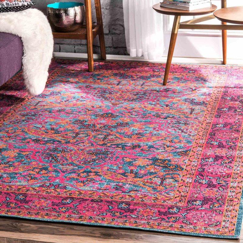 pink area rugs knox pink area rug SNOOXDJ