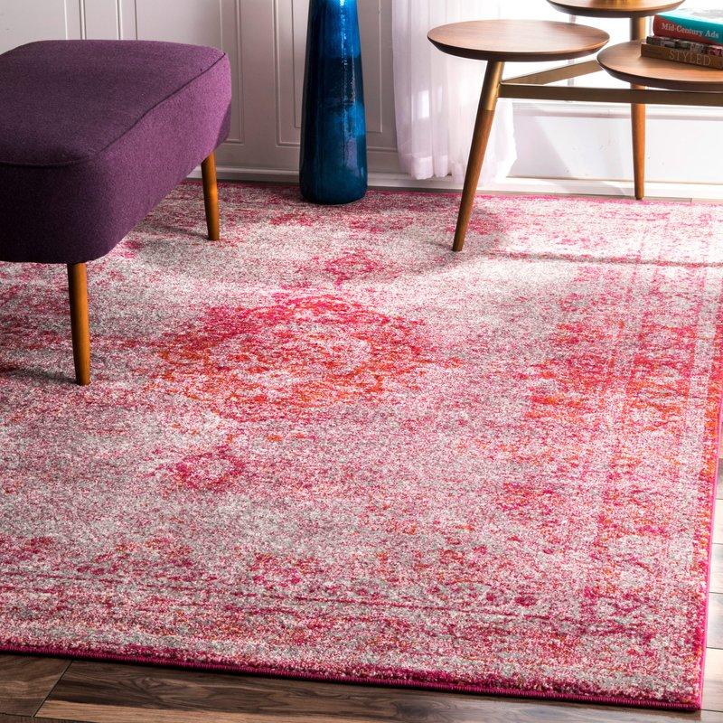 pink area rugs padilla pink area rug NTEKVXG