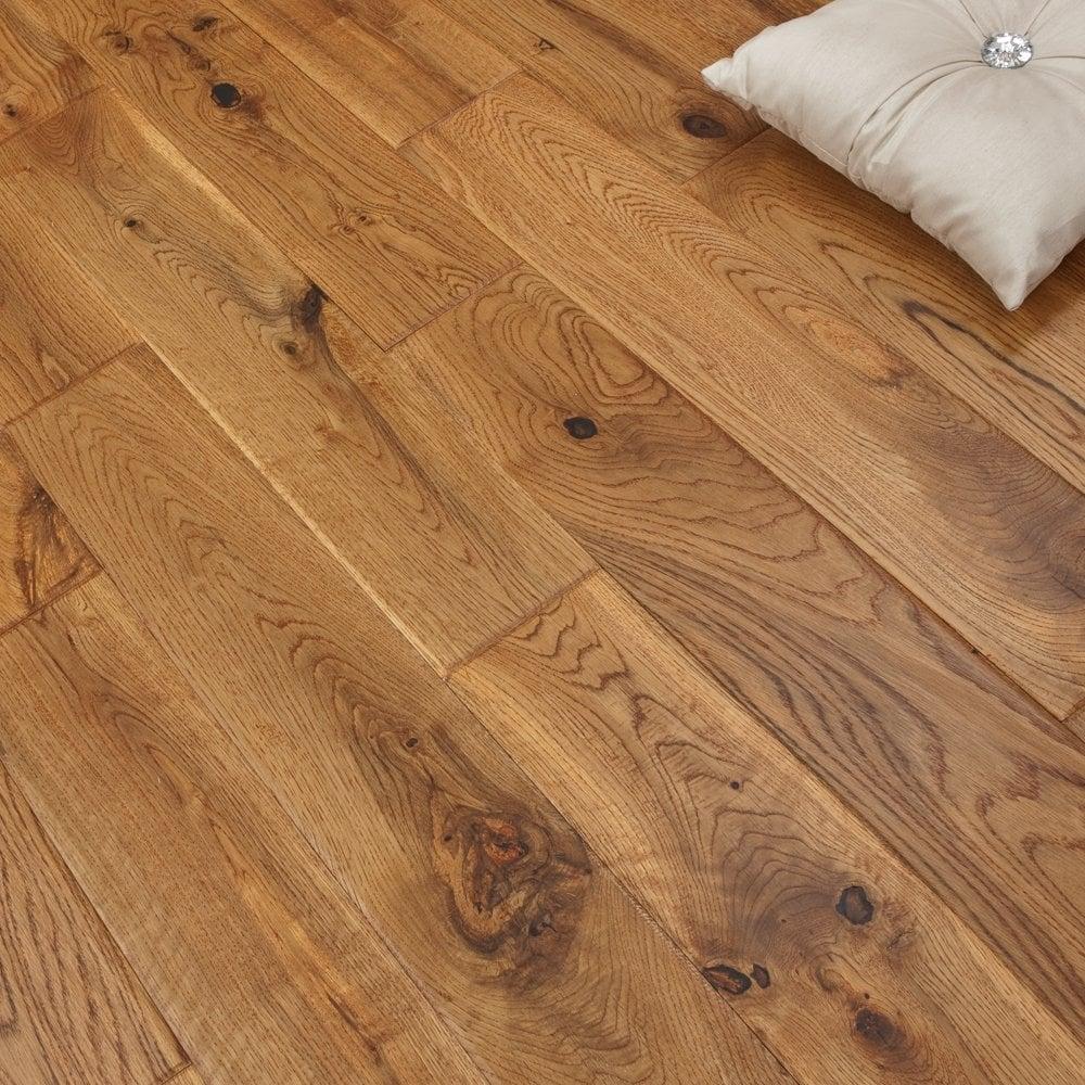 platinum series solid oak flooring 18mm x 120mm hand scraped uv vintage OLRNWFP