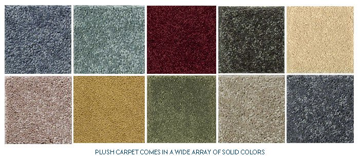 plush carpet color choices DBYQRZX