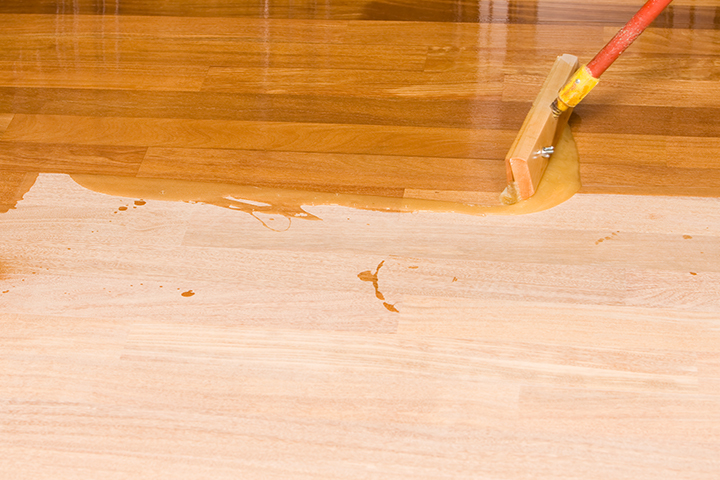 prefinished hardwood floors staining your own unfinished hardwood floor FUYAVHK