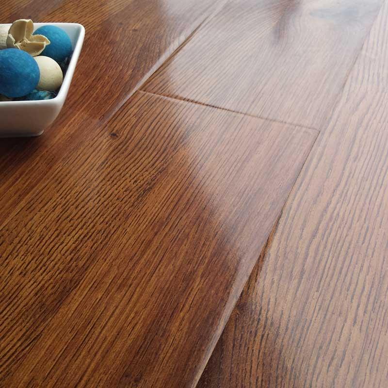prestige gloss royal oak 8mm v-groove laminate flooring EPBHGEB