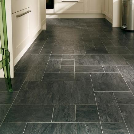 professional continuous black slate laminate tiles RUIJLRY