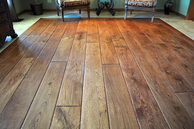 reclaimed flooring private residence - reclaimed oak flooring traditional-living-room JWGUKDR