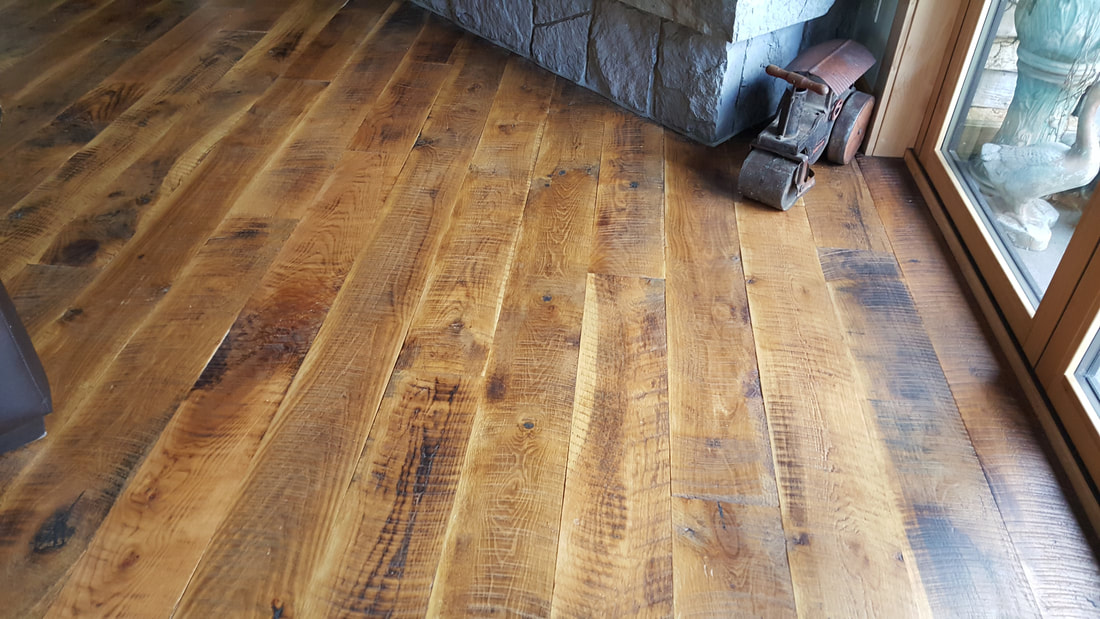 reclaimed flooring reclaimed circle saw face white oak flooring- new york WDGHUQM