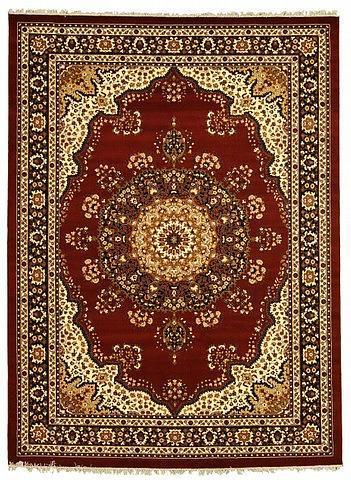 red 8u0027 x 9u0027 10 turkish rug   area rugs   esalerugs CGXOSVZ