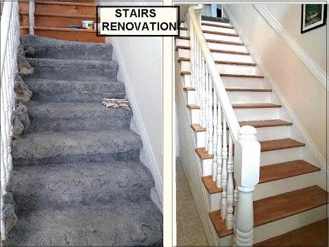 replace carpet on stairs diy stairs renovation, one woman, one staircase, with spindles, remove  carpet, ZRUWKHE