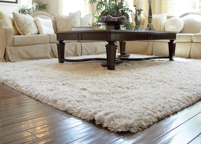 room rugs auroroa borealis shag rug traditional-living-room MUJJHXU