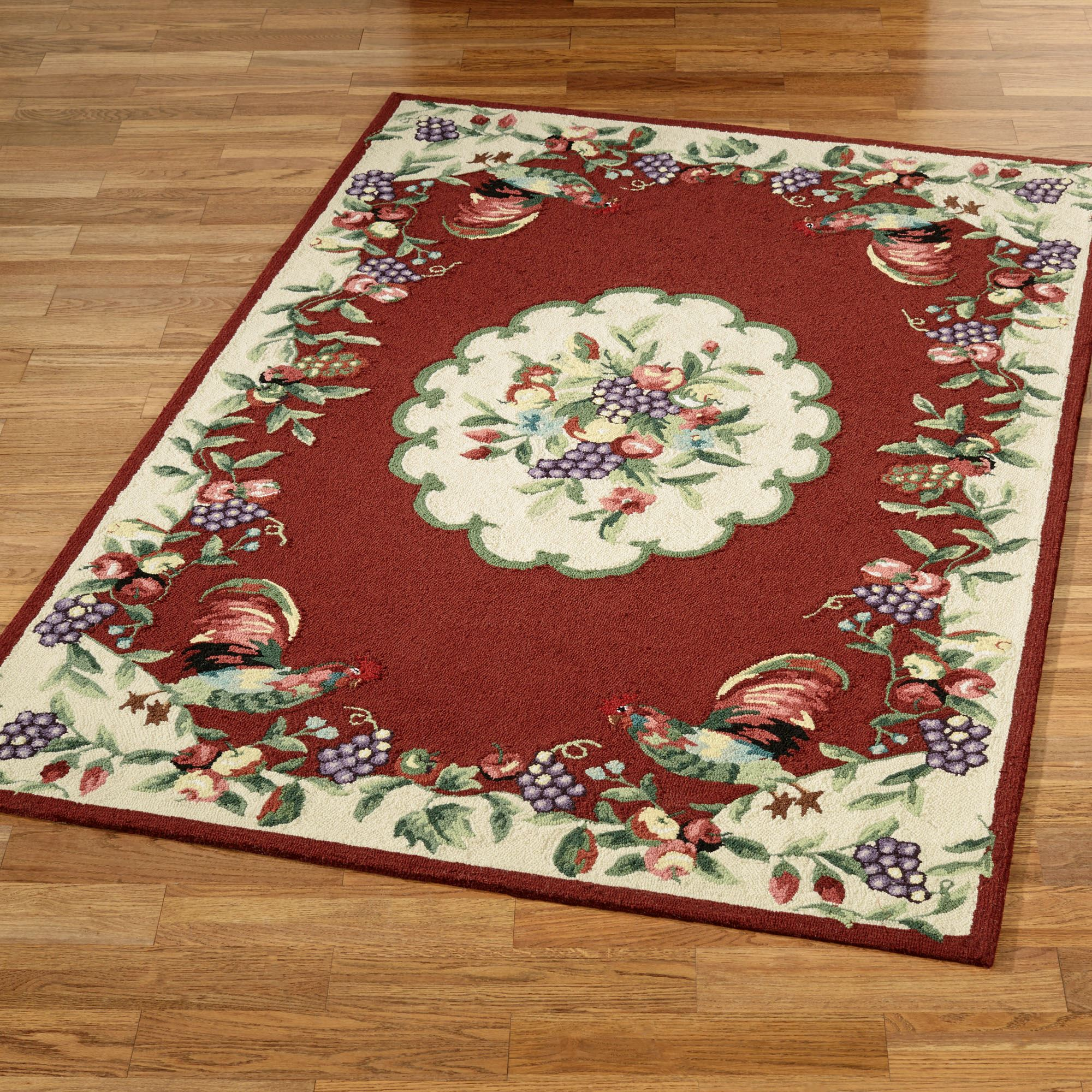 Rooster rugs sonoma rooster rectangle rug NAEGUOE