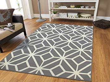 Rug carpet amazon.com: gray moroccan trellis 2x7 area rug carpet large new grey runner YBGAPRW