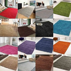 Rugs and mats image is loading new-thick-rich-shaggy-rugs-large-soft-rug- ZUMGHKD