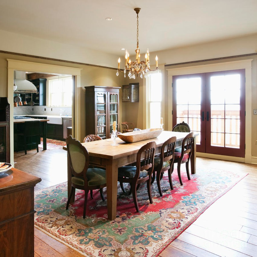 rugs for dining room 30 rugs that showcase their power under the dining table DZFXRXZ
