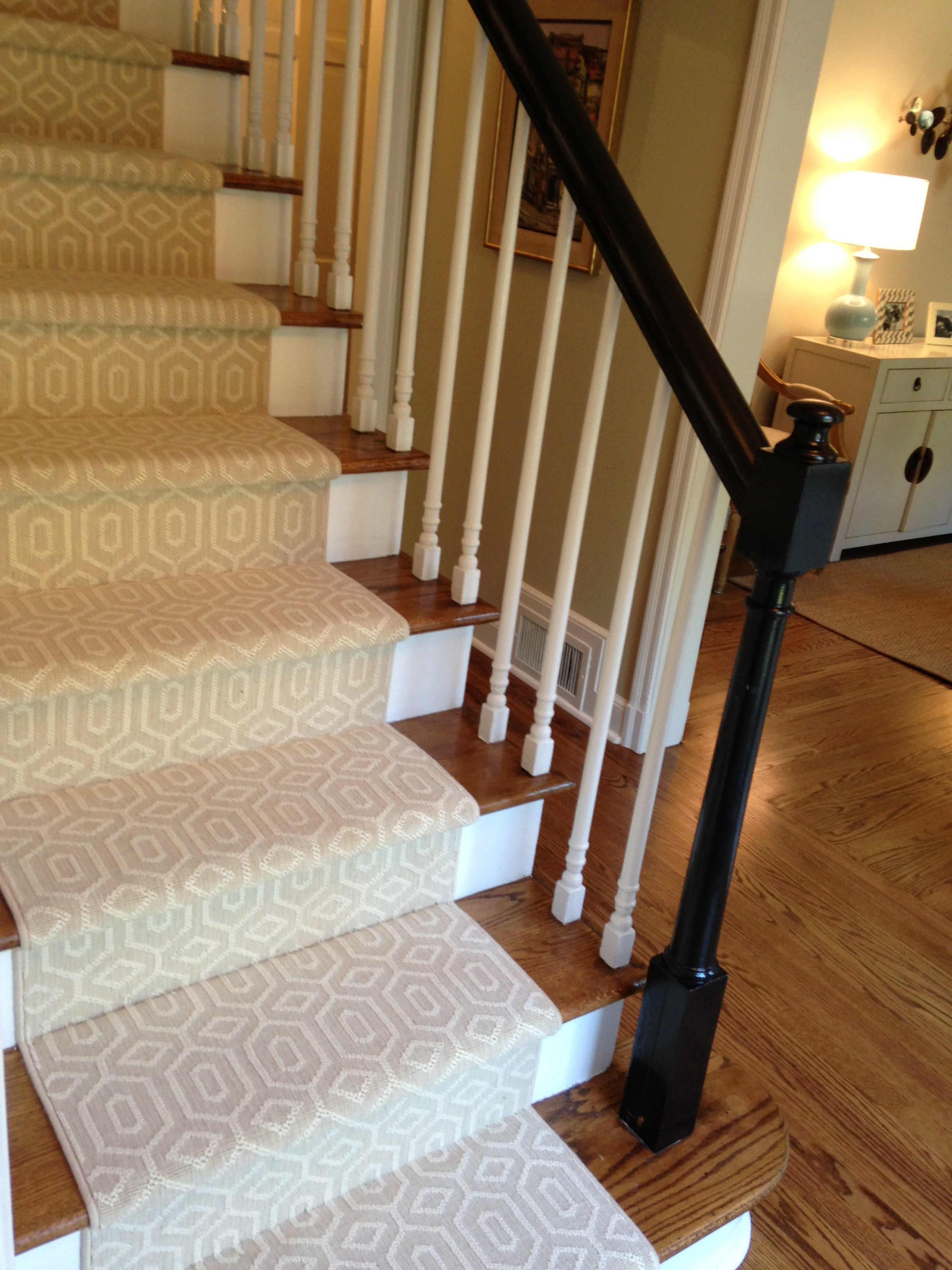 rugs on stairs choosing a stair runner: some inspiration and lessons learned UYGCBDJ