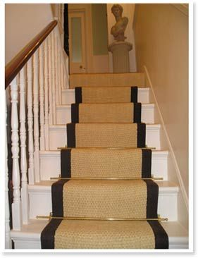 rugs on stairs wood steps with carpet runners - google search LJSXTSI