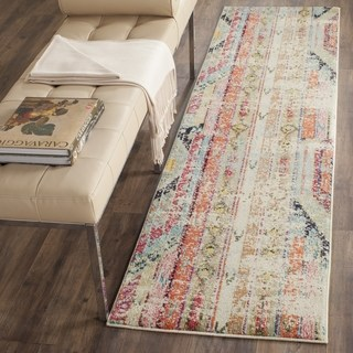 Rugs runners safavieh monaco vintage bohemian multicolored distressed runner - 2u00272 x ... MRDHKTC