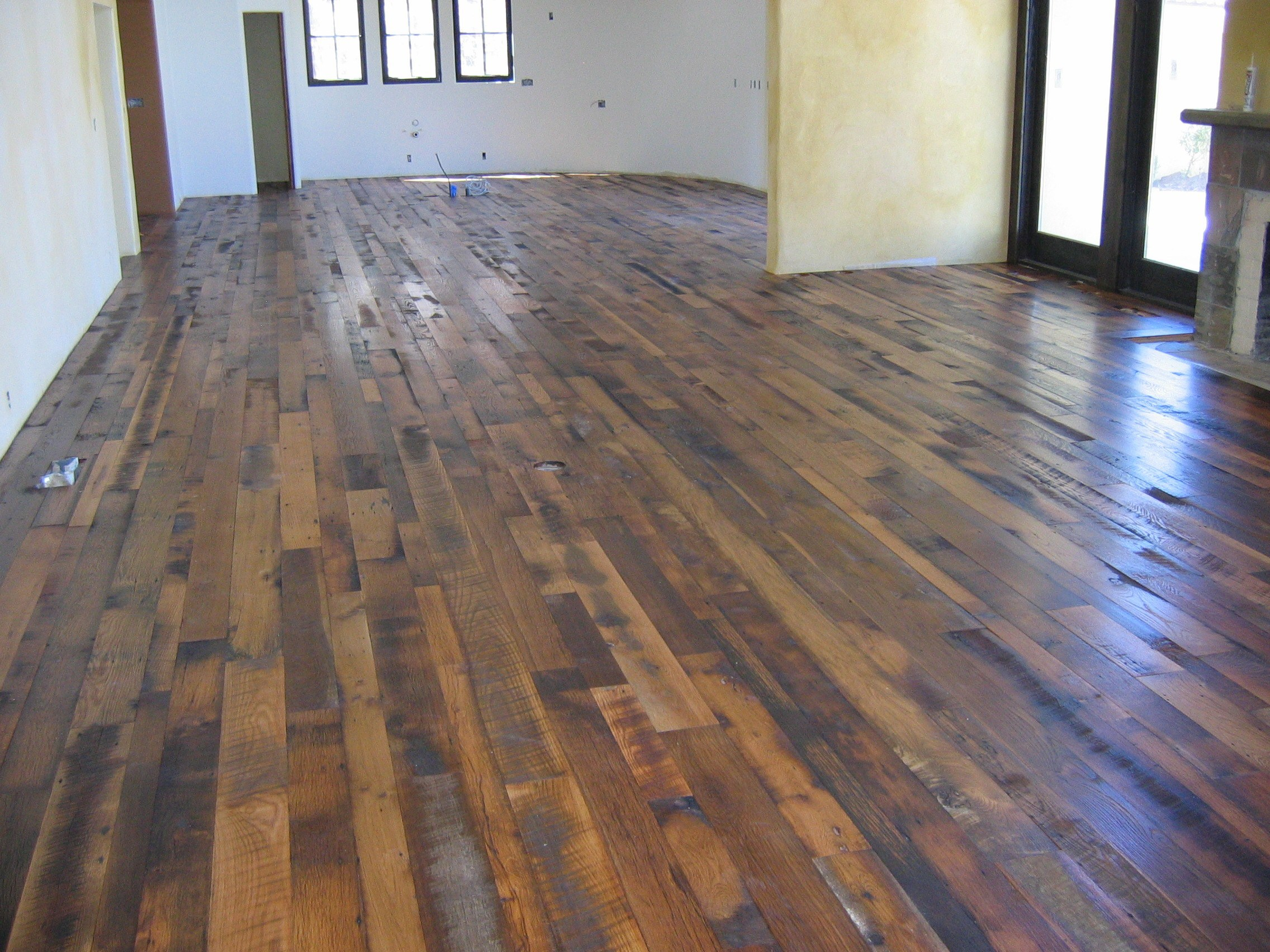 sensational distressed wood flooring wallpaper CUMKVBX
