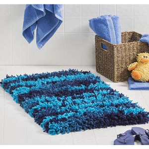 shaggy rug pattern put this modern shag rug in your bathroom for a fun ocean feel. MIXBUTD