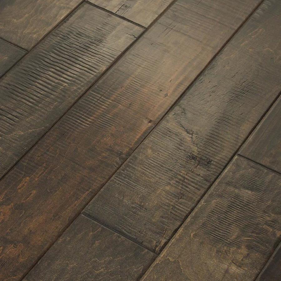 shaw hardwood flooring shaw 4.94-in quarry maple engineered hardwood flooring (15.9-sq ft) YYXXQMG