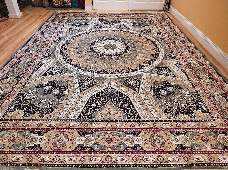 silk rugs amazon.com: stunning 2x12 persian silk area rugs long hallway runner 2 by12 LZWNDPK