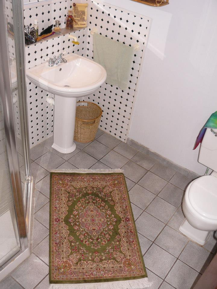 small rug in bathrooms ... persian rug in bathroom ... YXSPOPC