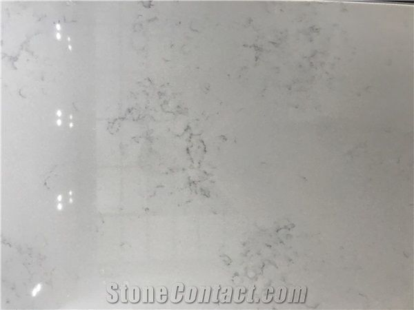 Solid stone floors engineered/artificial quartz stone monte bianco marble look solid surface  polished slab for TNIMHEH