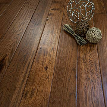 Solid wood floor hickory character (jackson hole) prefinished solid wood flooring 5 YZXJATF
