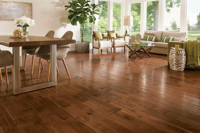 Solid wood floors are one time investment