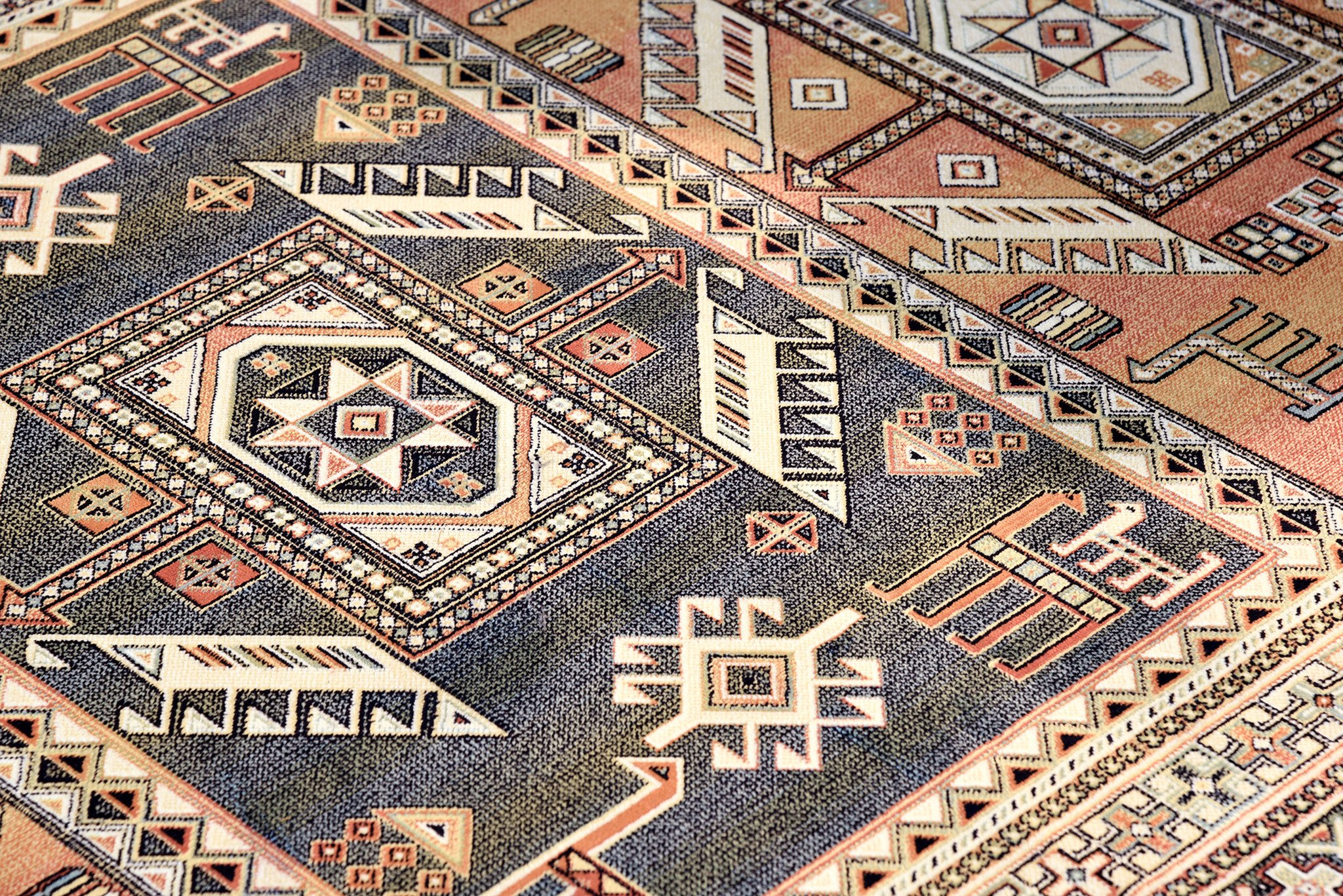 southwestern rugs southwest santa fe new mexico copper colored rug VDXMVGW