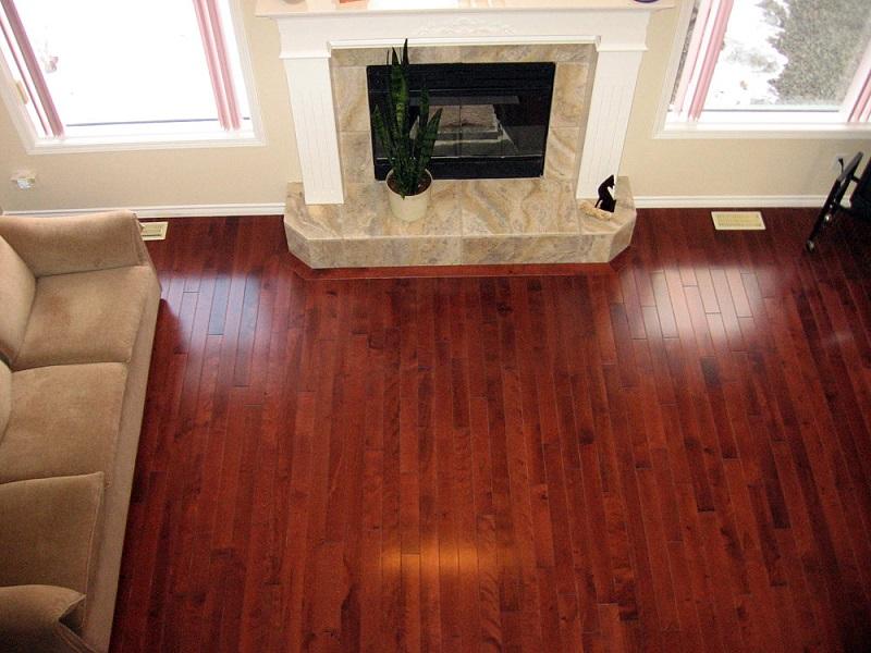 Strong wood floor ... floor. americanoriginalshickorysunsetsandroomscene1 birch-wine-081 ... XHZGSPC