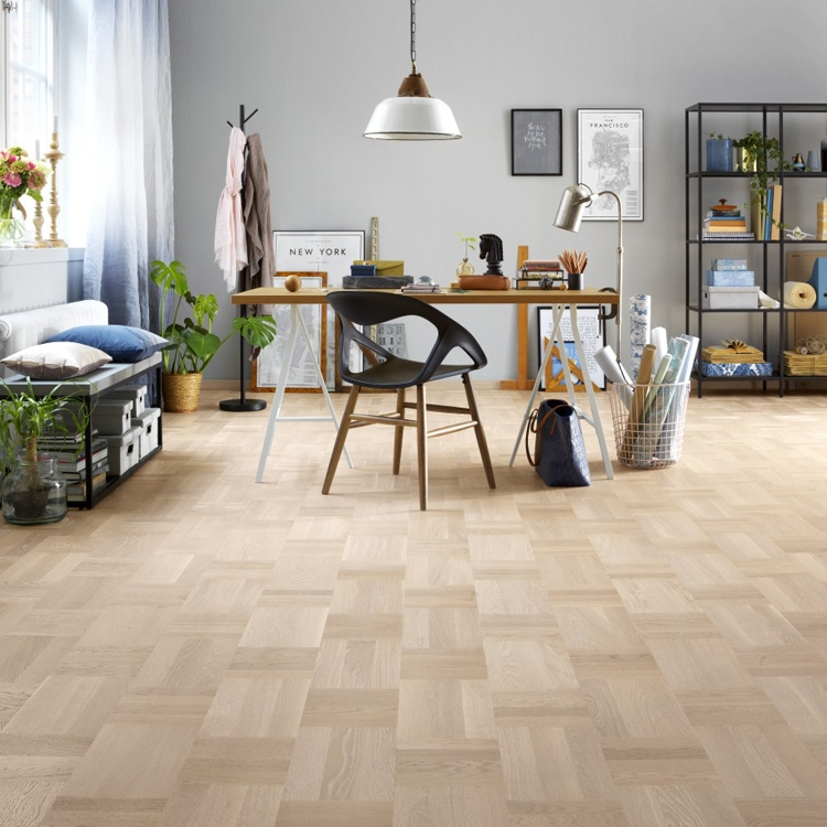 tarkett atelier noble oak scandinavian white parquet flooring TPOADHX