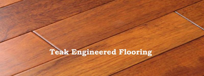 teak flooring teak engineered flooring - the flooring lady FQNLYEM