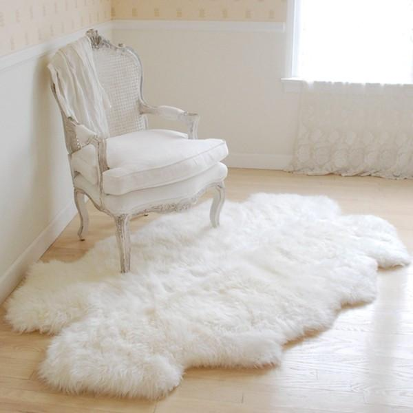 throw rug sheepskin throw rugs ... EIDIIVQ
