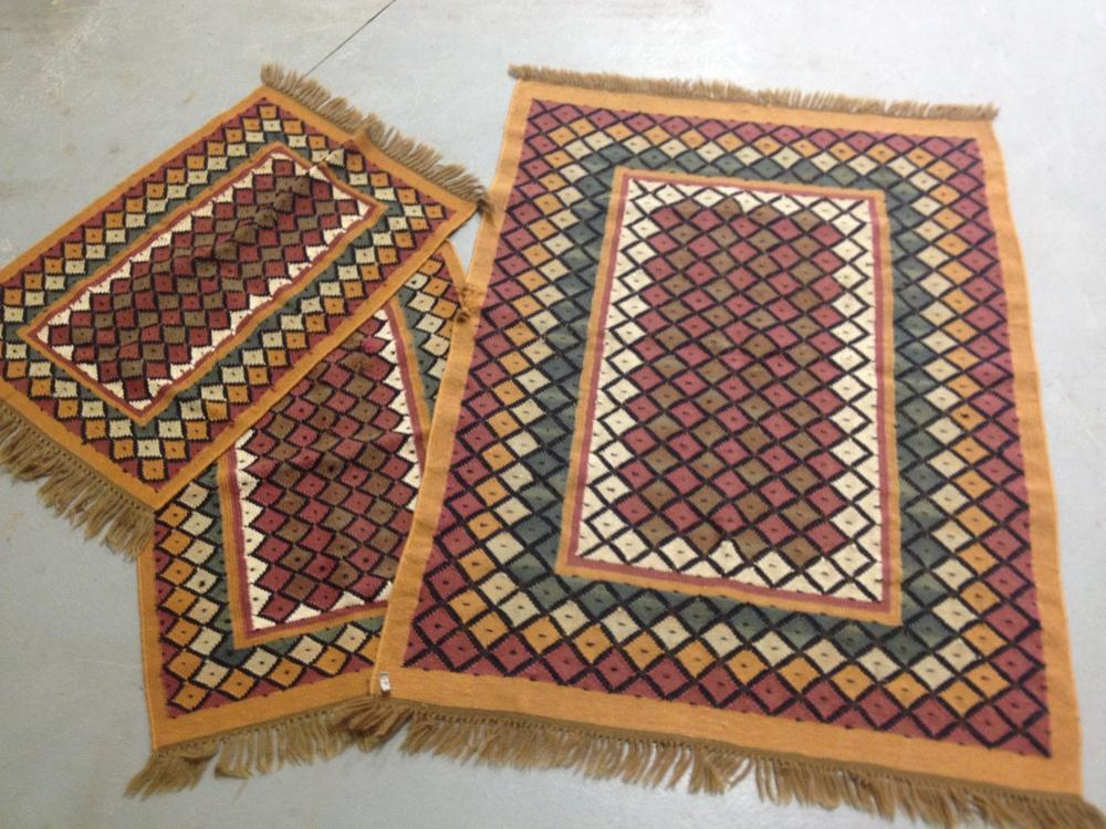 throw rug tribal throw rugs $25-$45 NGICMUT