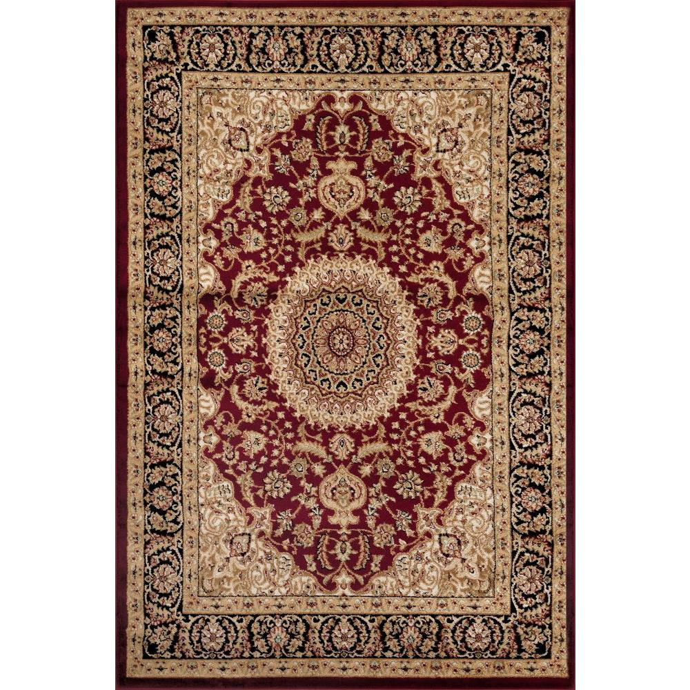 traditional rugs world rug gallery traditional oriental medallion design burgundy 8 ft. x 10 JBGJCZZ
