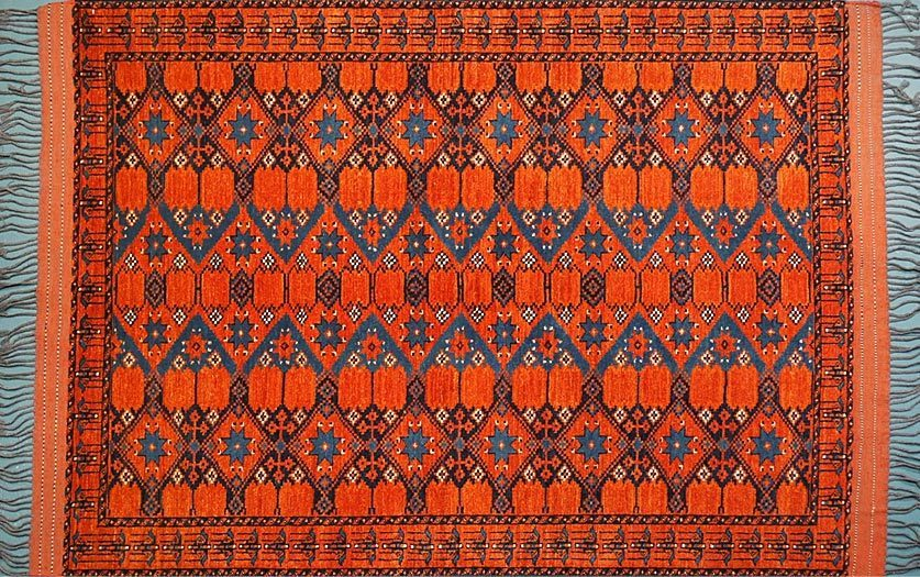 Tribal rugs ersari turkman WRNPHAT