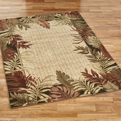 Tropical rugs belantara tropical area rug EPWWRTT