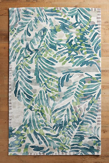 Tropical rugs blue tropical palm leaf rug:  http://www.caronsbeachhouse.com/blue-tropics-area-rug/ | shop caronu0027s beach  house CSGBXYT