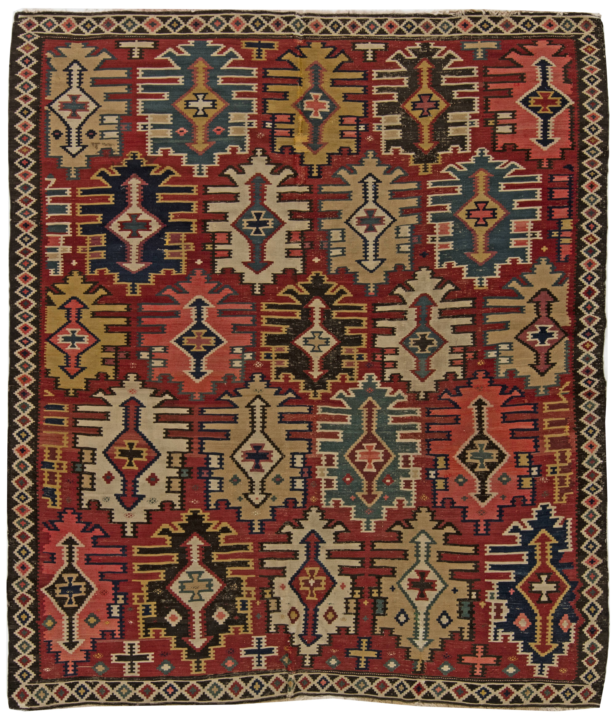 Turkish carpets antique turkish kilim rug ... XLNVOJB