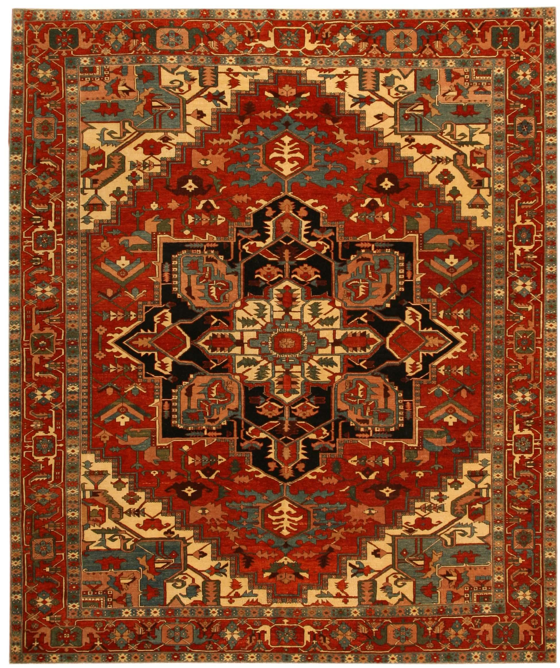 Turkish carpets heriz design turkish rug / carpet 17823. loading zoom VEHTVDT