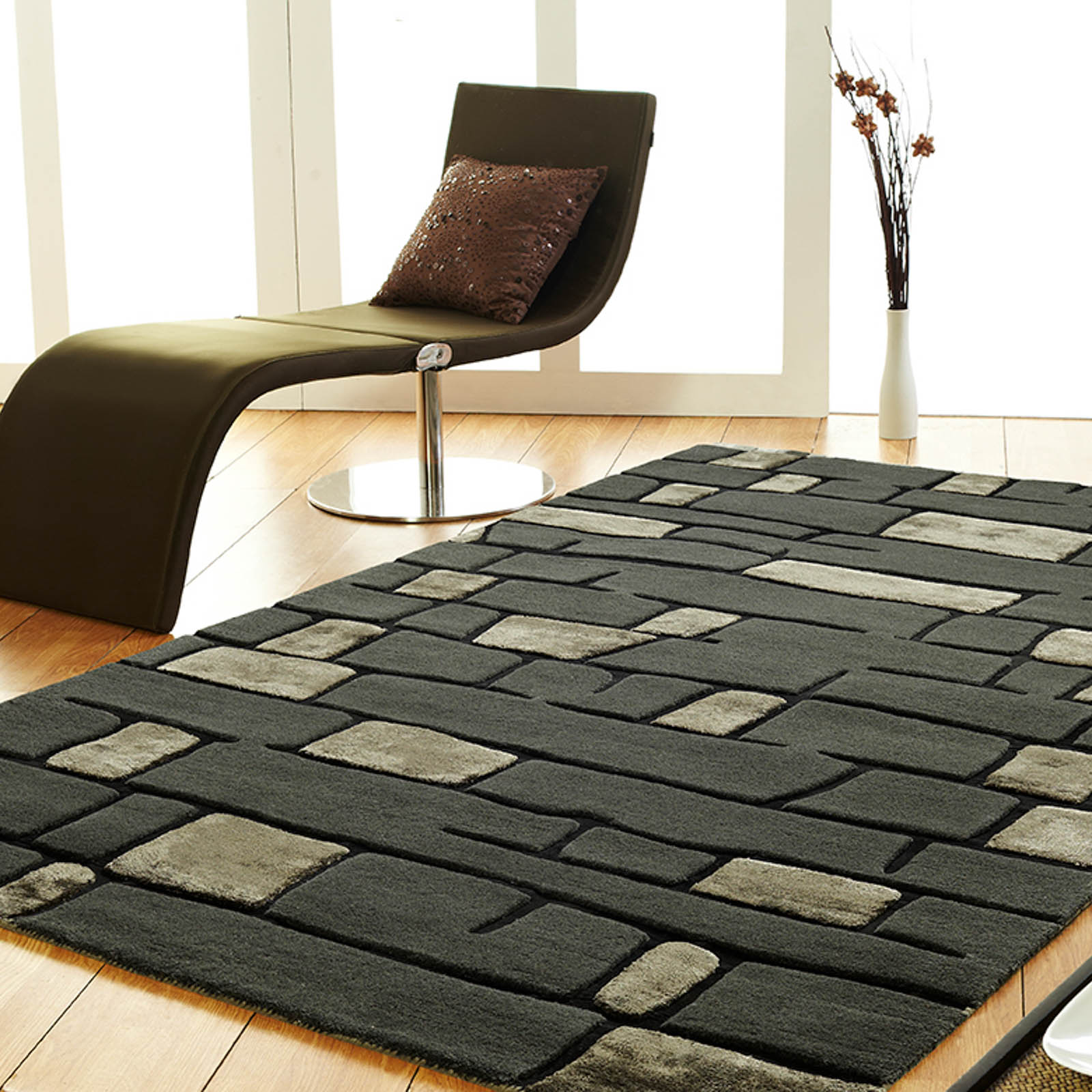 unique rugs unique area rugs dark grey NEPKOHV