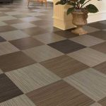 Fabulous interiors with vinyl floor tile