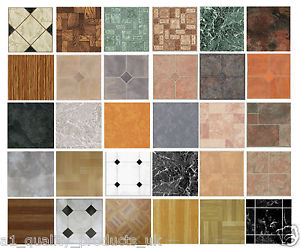 vinyl floor tile image is loading 4-x-vinyl-floor-tiles-self-adhesive-bathroom- SANPAML