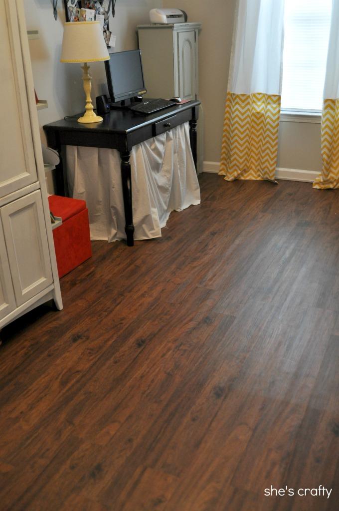 vinyl wood floor chic fake wood flooring lowes cherry flooring shes crafty vinyl plank  flooring WXAAAER