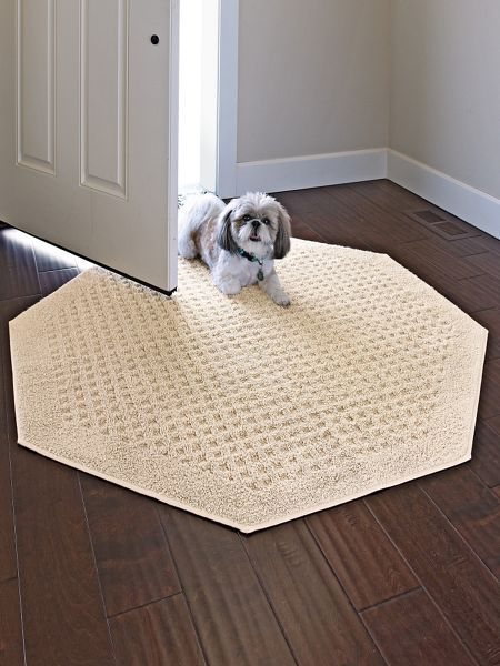 vista octagon rugs - no synthetic rug comes close to the soft feel TQSTFQH